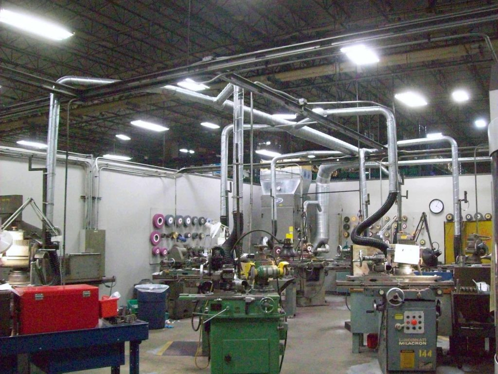 Machine Shop Dust Collector Air Cleaning Solutions Of Texas