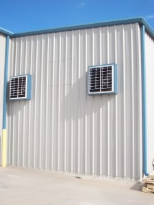 Wall Exhaust Louvers