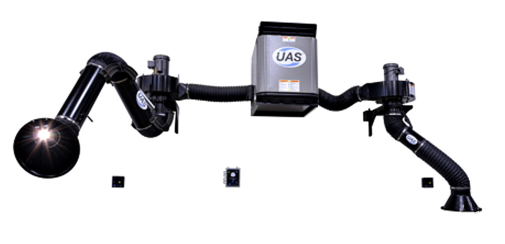 Wall Mount Welding Fume Extractor : W series air cleaning solutions of texas
